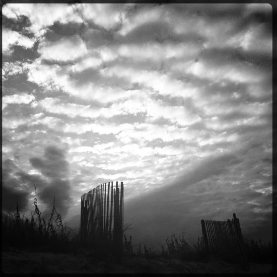 Playalinda Beach - Clouds at Dusk